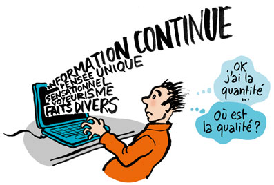 Illustration relais d'information