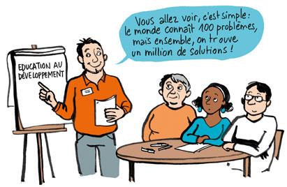 Ilustration éducation au développement
